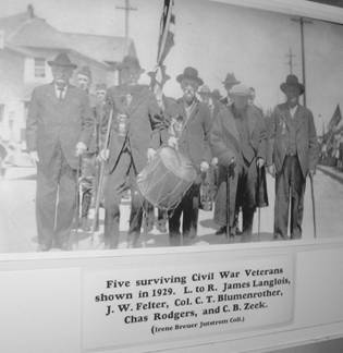 Five Veterans 1929